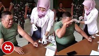 Download Tentara Takut Jarum Suntik?! Begini Reaksi Paling Lucu Ketika Disuntik