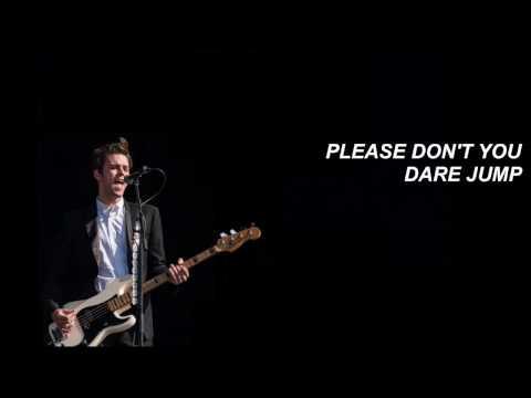 LYRICS // Dallon Weekes - Please Don't Jump (It's Christmas)