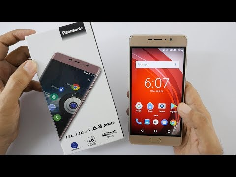 Panasonic Eluga A3 Pro Smartphone Unboxing & Overview