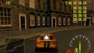 Test Drive 5 Yellow Dodge Viper GTS-R Gameplay (Nitro And Gravity Cheat)