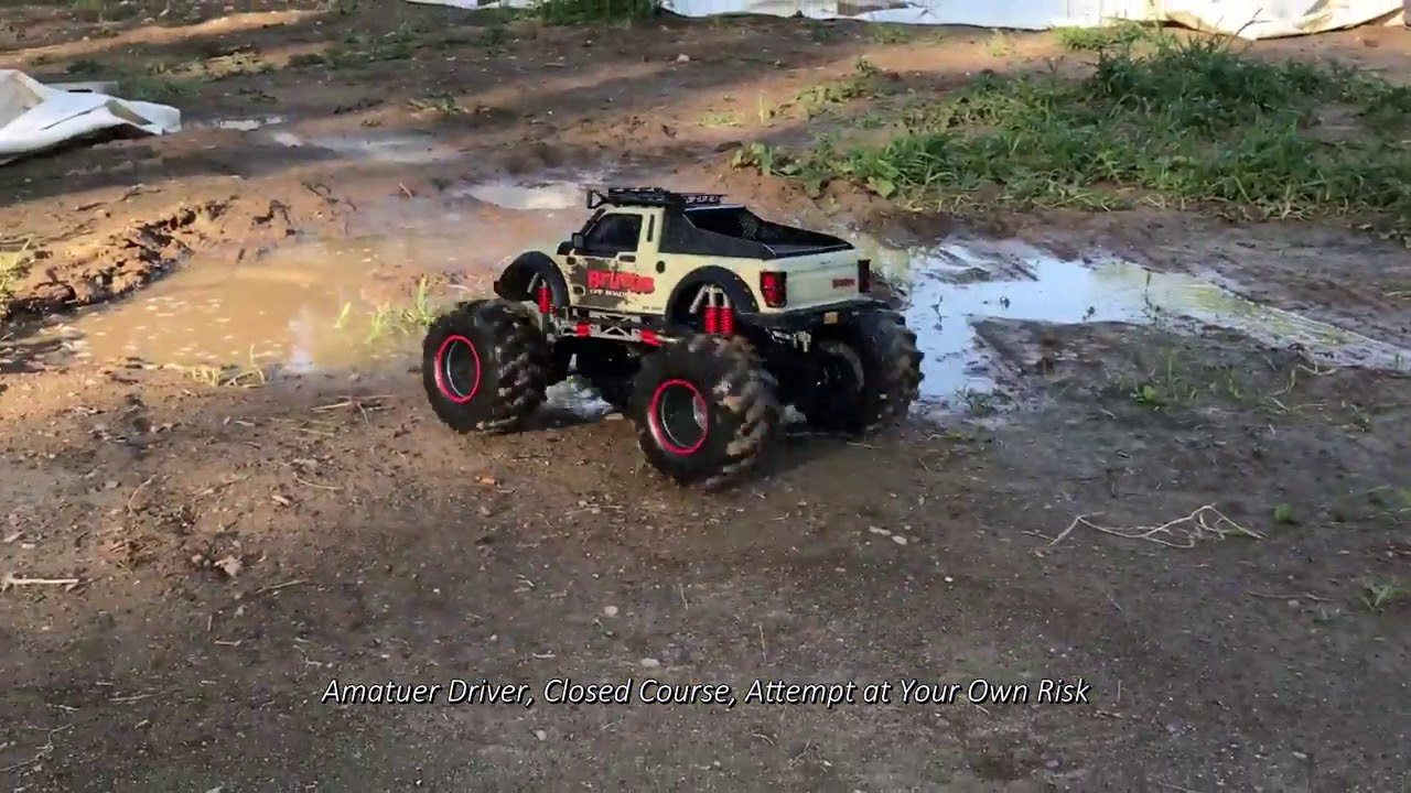 4 X 4 >> 1 8 Uzaktan Kumandali Brutus 4x4 Off Road Arac Youtube
