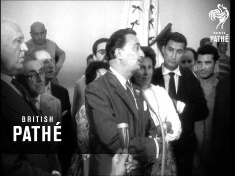 Salvador Dali In Port Lligat (1960)