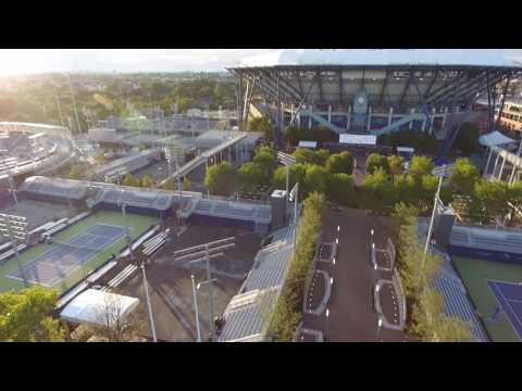 2016 US Open Grounds USTA -- AERIAL VIEW