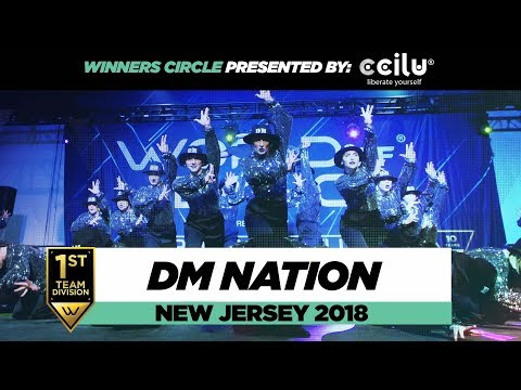 DM Nation | 1st Place Team Division | Winners Circle | World of Dance New Jersey 2018 | #WODNJ18