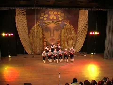 Todor Bekirski 45 years of folklore  art work choreography concert ensemble Pirin part 2
