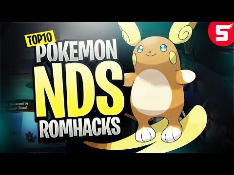 Top 10 BEST Pokemon NDS Rom Hacks! (2018)