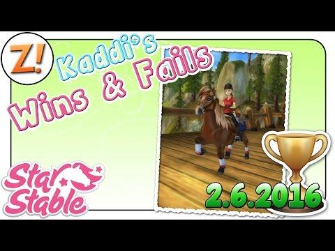 Star Stable [SSO]: Kaddi's Wins & Fails [02.06.2016] | Let's Play ♥ [GER/DEU]