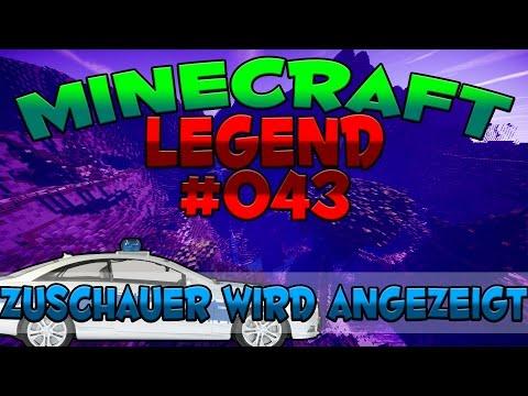 ZUSCHAUER WIRD ANGEZEIGT- MINECRAFT LEGEND #43   GAMERSTIME