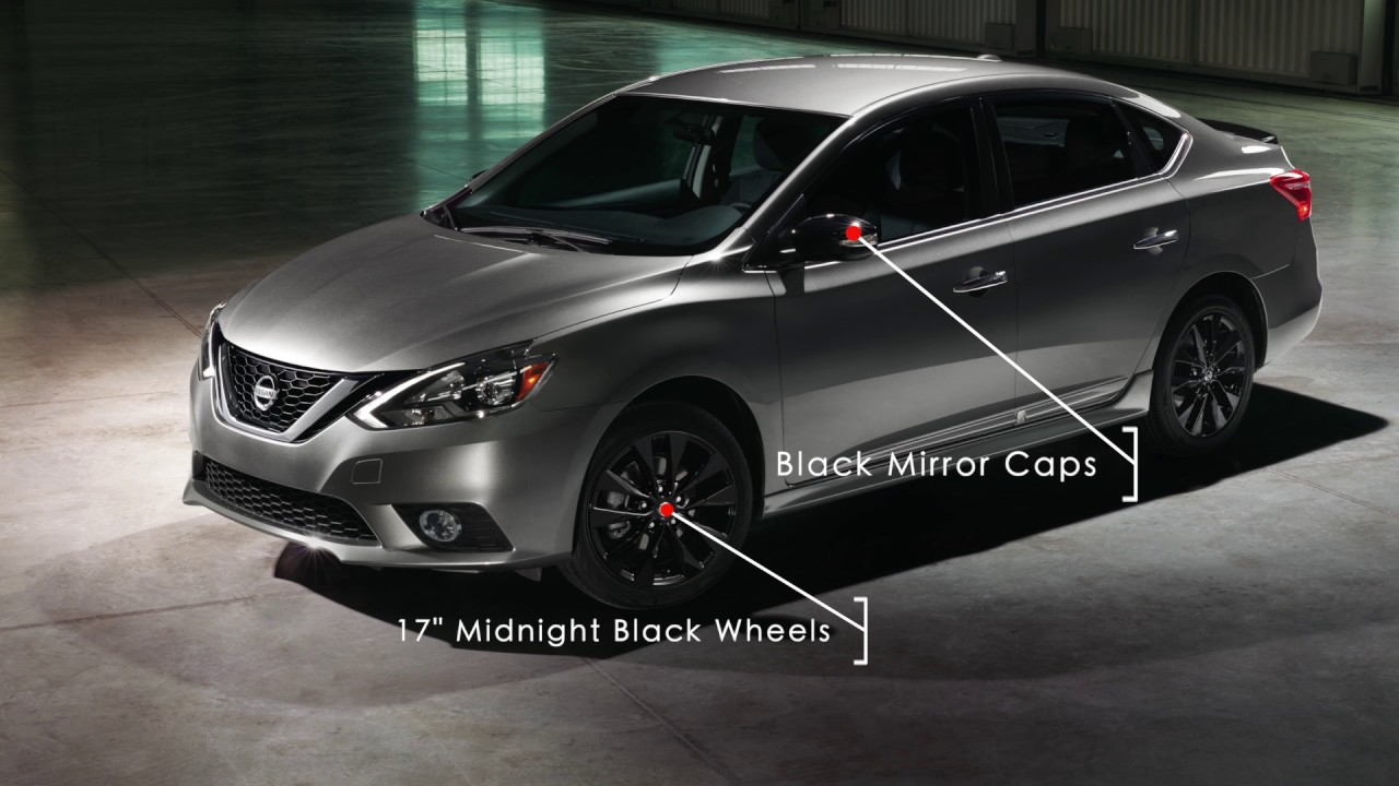 2017 Nissan Sentra Sr Midnight Edition Youtube