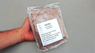 Tasting US Hot Weather MRE  (Meal Ready to Eat)