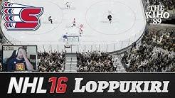"""NHL 16 HUT: Loppukiri """"Suomen World Cup joukkue"""""""