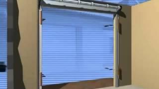 видео Гаражные ворота Hormann, купить подъемные немецкие ворота для гаража, цена в Москве