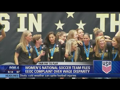 US Women's Soccer Team Files Wage Complaint