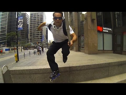 Parkour Canadian Style; On Skates Of Course, Inline Skates; Flowcast 7 Highlights