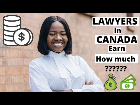 How much do Lawyers in Canada Earn?