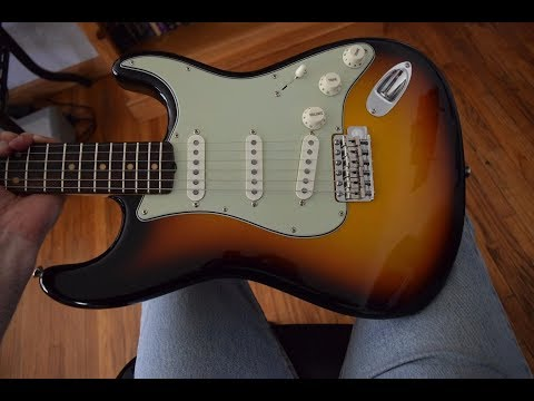 Fender American Vintage '59 Stratocaster , AVRI , Demo & Review