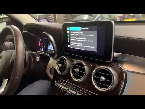 Mercedes GLC CarPlay Integration