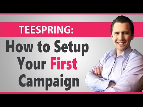 Teespring Tutorial: Everything You Need to Know!