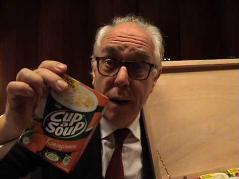 Het koffertje van Cup-a-Soup