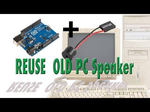 Old PC Speaker Beep! Beep! Arduino Speaker tutorial