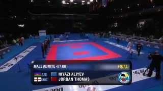 THOMAS Jordan (England) - ALIYEV Niyazi (Azerbaijan)