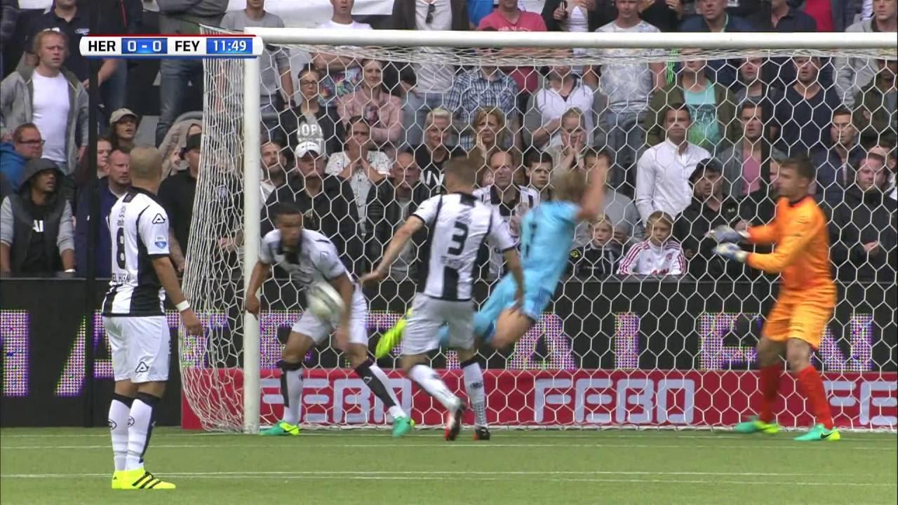 Samenvatting Heracles Almelo - Feyenoord 2016-2017 - YouTube