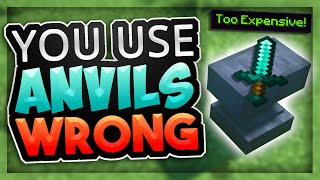 Minecraft Enchanting: You use Anvils WRONG :(