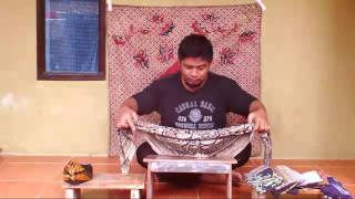 Iket Sunda | Gunanya Iket Praktis