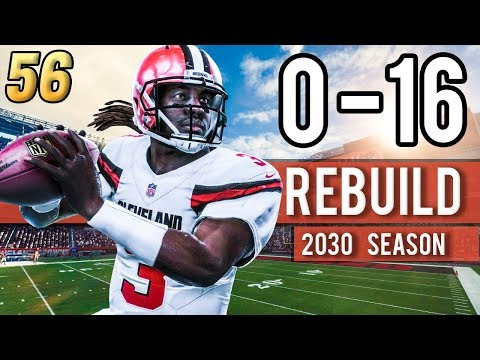 GREENBERRY REGRESSION? FULL SEASON SIM (2030) - Madden 18 Browns 0-16 Rebuild | Ep.56