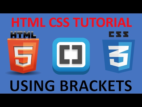 HTML And CSS Tutorial For Beginners 12 - Figcaption Element With Brackets Live Preview