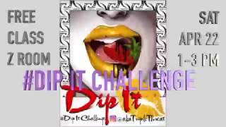 April 22nd Dip It Class