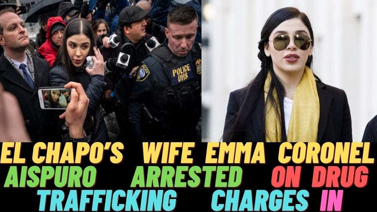 Emma Coronel Aispuro Wife of Joaquín 'El Chapo' Guzmán, arrested on drug  charges in the U.S 2021 - YouTube