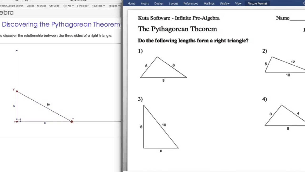 Workbooks pythagorean theorem worksheets pdf : Pythagorean Theorem Puzzle Worksheet fraction problems worksheet ...