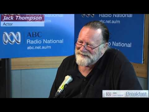 Jack Thompson: Favourite Australian poems vol.5 [HD] - ABC Radio National Breakfast