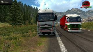BST Special Convoy Euro Truck Simulator 2 TruckersMp Multiplayer | Bangladesh Sentinel Truckers