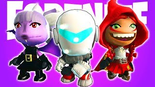 FREE Fortnite Season 6 Skins/Outfits Plus Fortnite Bomb Survival - LittleBigPlanet 3 PS4 Gameplay