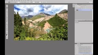 Обработка пейзажа. Часть 5. Повышение резкости для web