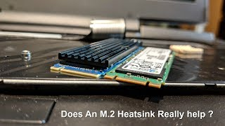 Does An M.2 Heat Sink Actually Help Lower SSD Temperatures ?