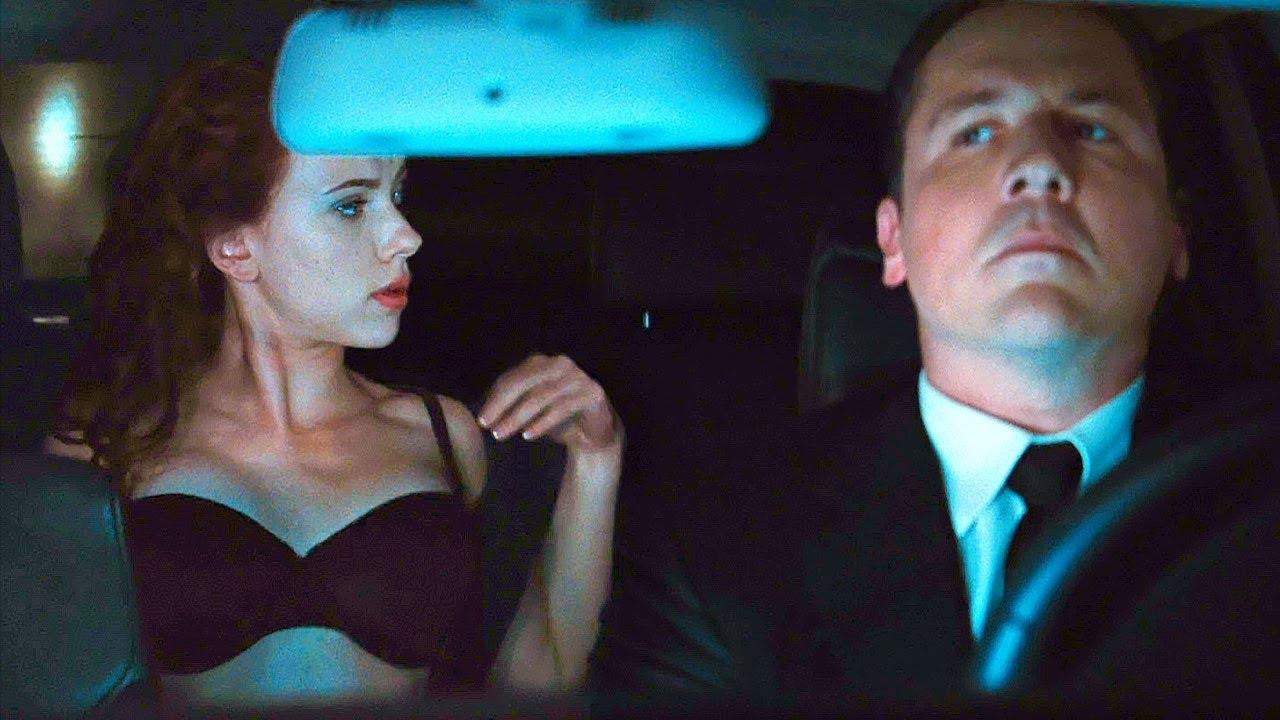 "Black Widow: ""Watch The Road"" Scene - Iron Man (2010) Movie Clip HD"