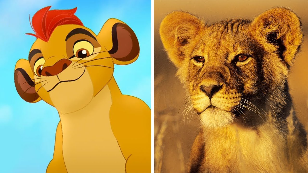 The Lion Guard Characters In Real Life All Characters