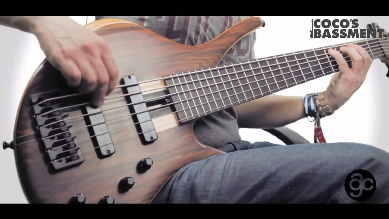 ac guitars harlot mkii 6 string short scale bass demo youtube. Black Bedroom Furniture Sets. Home Design Ideas