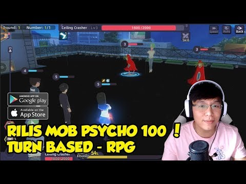 Rilis  ! Mob Psycho 100 ! Turn Base Rpg ! Anime Style
