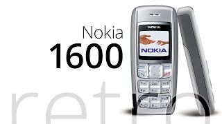 Retro: Nokia 1600