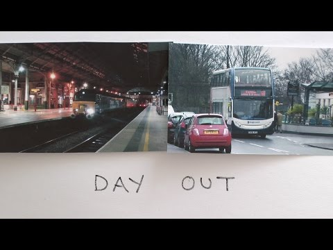 """ A Day Out In Lancashire ""   On Trains & Buses 27/1"