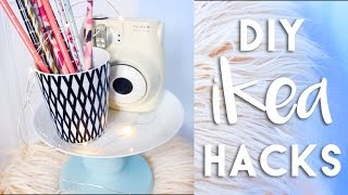 DIY Ikea Hacks | Budget Room Decor DIYs 2016