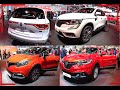 TOP 3 new Renault SUVs Renault Koleos, Renault Captur, Renault Kadjar 2016, 2017 model