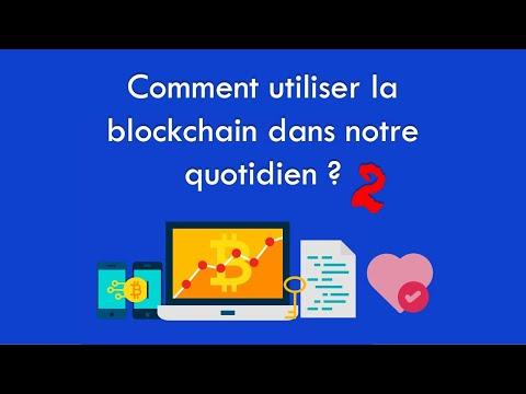 Domaines d'applications des blockchains 2/5