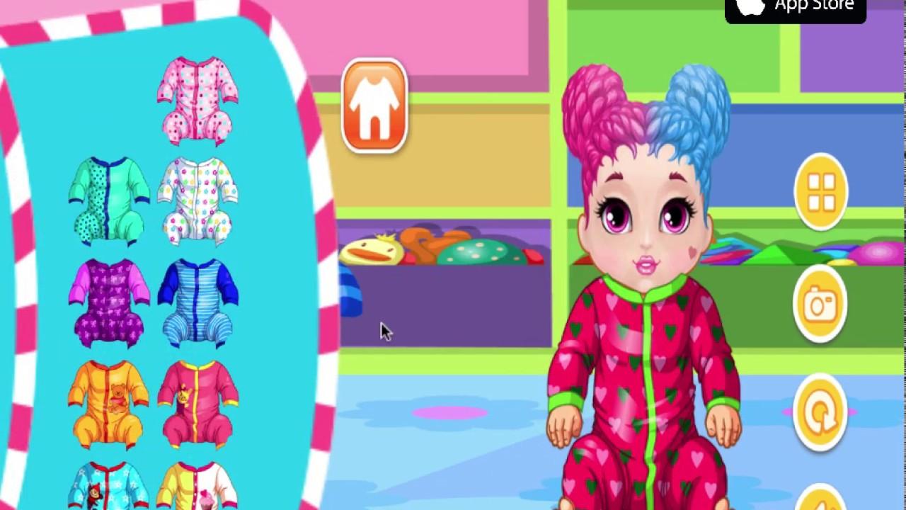 Dolls Dress up games - LOL SURPRISE - Paper Dolls dress up for McDonald's Happy Meal Cartoons