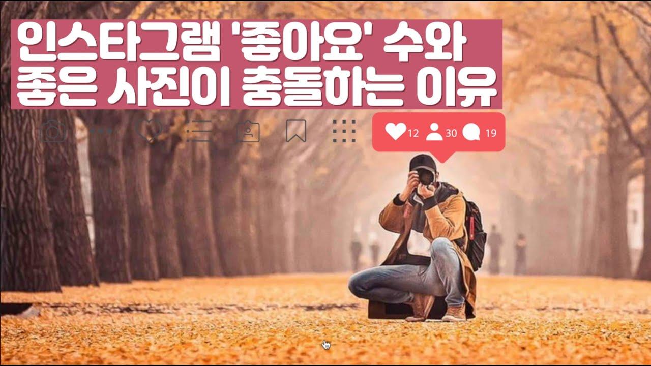 김경만 감독의 사진학개론 인스타그램 좋아요 수와 좋은 사진이 충돌하는 이유