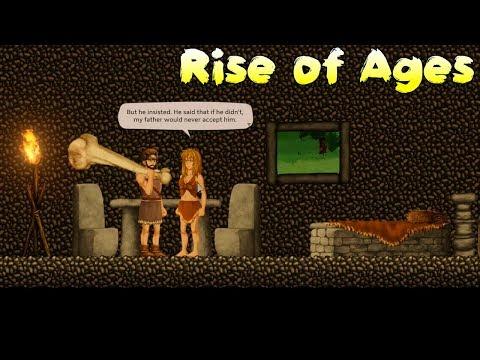 Пропустили за Ворота Племени, помочь королю! Rise Of Ages прохождение #5 как Орион онлайн 3